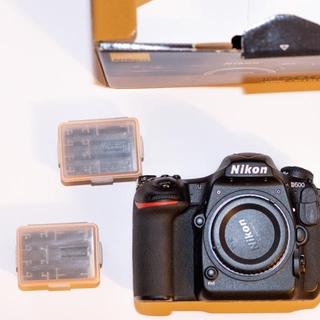Nikon - Nikon D500+非純正バッテリー2個