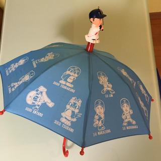 トウキョウヤクルトスワローズ(東京ヤクルトスワローズ)の東京ヤクルトスワローズ 傘 応援傘 宮本慎也 傘ホルダー 応援傘 非売品(応援グッズ)