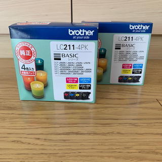 brother - ブラザー LC211-4pk 2箱セット