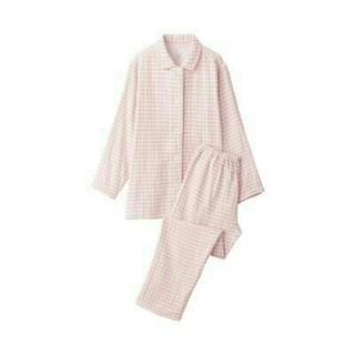 MUJI (無印良品) - 新品 無印良品  脇に縫い目のない四重ガーゼパジャマ