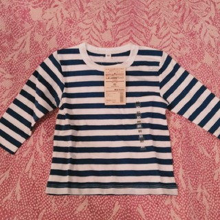 MUJI (無印良品) - 新品、キッズ無印長袖シャツ80サイズ