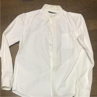 RAGEBLUE襟なしシャツ