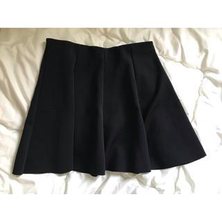 ザラ(ZARA)のZARA スカート ブラック(ミニスカート)