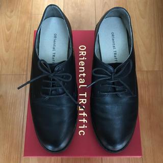 オリエンタルトラフィック(ORiental TRaffic)のオリエンタルトラフィック   ヒールオックスフォード レースアップシューズ(ローファー/革靴)
