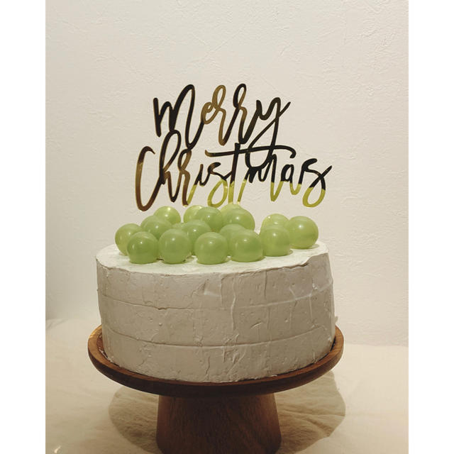 ケーキトッパー クリスマス ツリー パーティー 飾り インテリア/住まい/日用品のキッチン/食器(その他)の商品写真