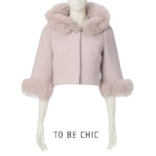 TO BE CHIC - 送料込み 定価6万7000円 TO BE CHIC コート ショートコート