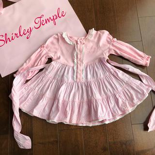 シャーリーテンプル(Shirley Temple)のシャーリーテンプル  shirley temple ワンピースピンク(ワンピース)