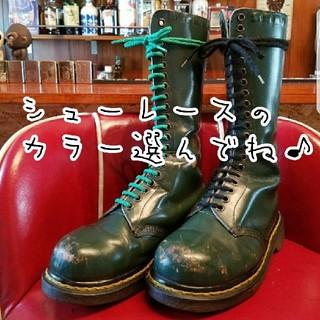 ドクターマーチン(Dr.Martens)の英国製 スチールトゥ(ブーツ)