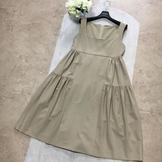 FOXEY - 【美品】FOXEY フォクシー エンパイア  フレア ドレス ワンピース 40