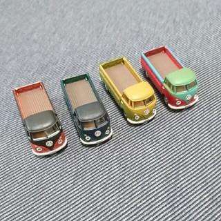 フォルクスワーゲン(Volkswagen)のワーゲンバス ミニカー 4台  (ミニカー)