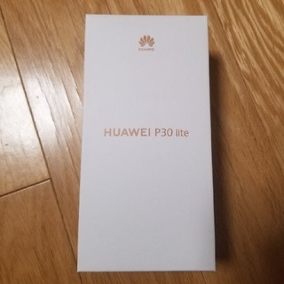 ANDROID - HUAWEI P30 lite 本体 ミッドナイトブラック 新品未開封