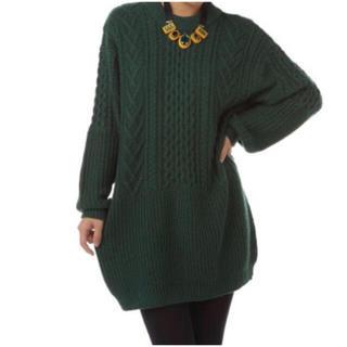 SLY - SLY スライ ニット ワンピース 緑 グリーン サイズ 2 Mサイズ