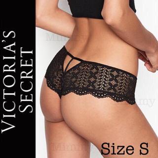 Victoria's Secret - アイレットレース ヒップスター ソング♡ブラック