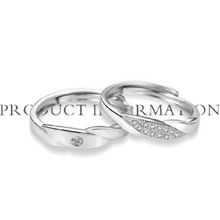 ペアリング新品ケース付フリーペアルック指輪プラチナ仕上シルバー925アクセサリー(リング(指輪))