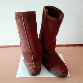 ミネトンカ(Minnetonka)のMINNETONKA ムートンブーツ サイズ7(ブーツ)