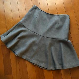 レプシィム(LEPSIM)のレプシム マーメイドスカート グレー サイズL(ひざ丈スカート)