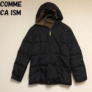 コムサイズム(COMME CA ISM)の【人気】COMME CA ISM/コムサイズム ジップアップダウン ブラック(ダウンジャケット)