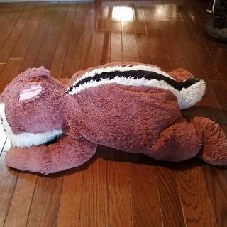 Disney - 特大チップぬいぐるみ 抱き枕