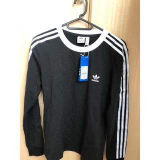 アディダス(adidas)のadidas スリーストライプス ロングスリーブTシャツ(Tシャツ(長袖/七分))