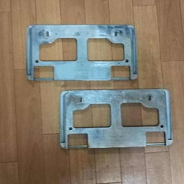 スズキ(スズキ)のスズキ  ナンバープレートカバー(前後セット 自動車/バイクの自動車(車内アクセサリ)の商品写真