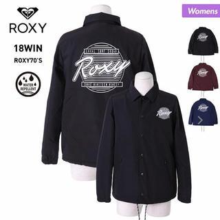 ロキシー(Roxy)のROXY コーチジャケット BLK(ナイロンジャケット)