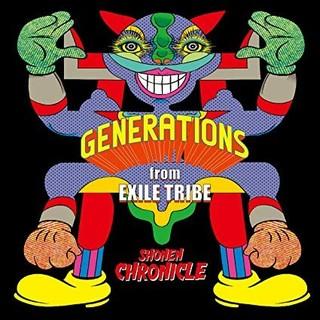 GENERATIONS - GENERATIONS SHONEN CHRONICLE CDのみ 未開封
