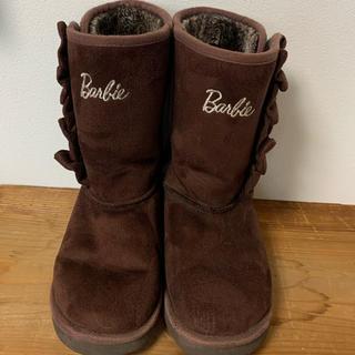 バービー(Barbie)のバービー 子供 ボアブーツ 21㎝(ブーツ)