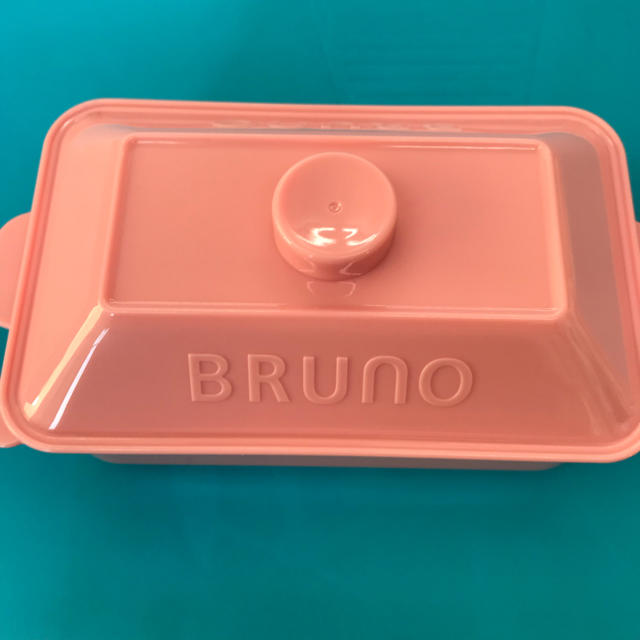 サントリー(サントリー)のブルーノ ランチボックス ピンク 新品 インテリア/住まい/日用品のキッチン/食器(弁当用品)の商品写真