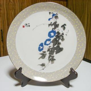 新品・文化勲章受章者・竹内 栖鳳の飾り絵皿