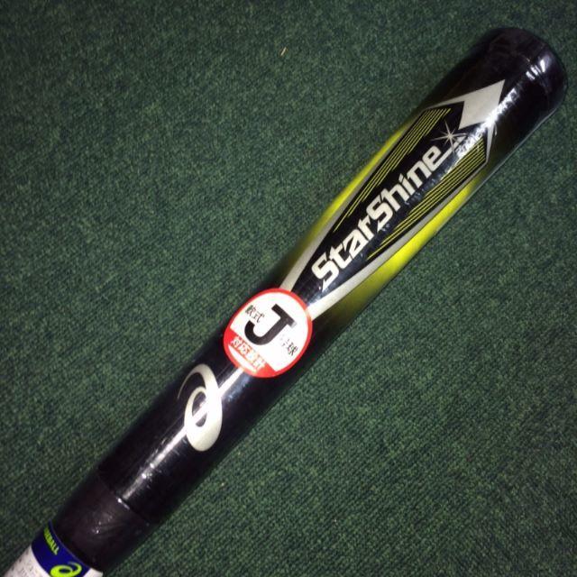 asics(アシックス)のアシックス 少年軟式用バット スターシャイン2nd  3124A030 スポーツ/アウトドアの野球(バット)の商品写真