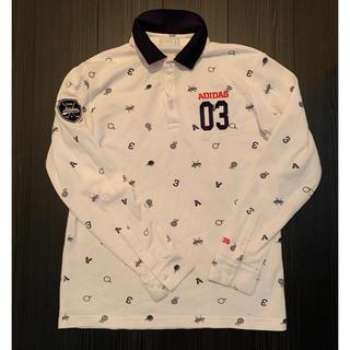 adidas - 美品✨ メンズ adidas golf モノグラム長袖ポロシャツ