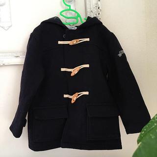familiar - ファミリア ウールコート ダッフルコート 120cm 男女兼用 ネイビー