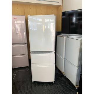 三菱 - 自動製氷!三菱  335L  3ドア 冷凍冷蔵庫 MR-C34Y  2014年製