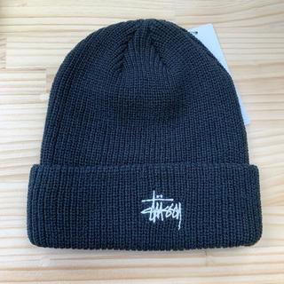 STUSSY - ステューシー stussy ニット帽 ロゴニット シンプル ストリート