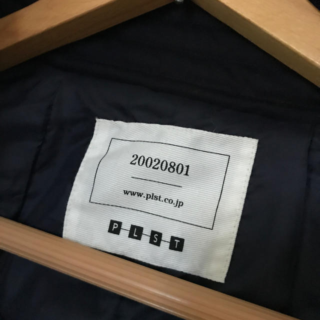 PLST(プラステ)のプラステ ダウンコート ネイビー レディースのジャケット/アウター(ダウンコート)の商品写真