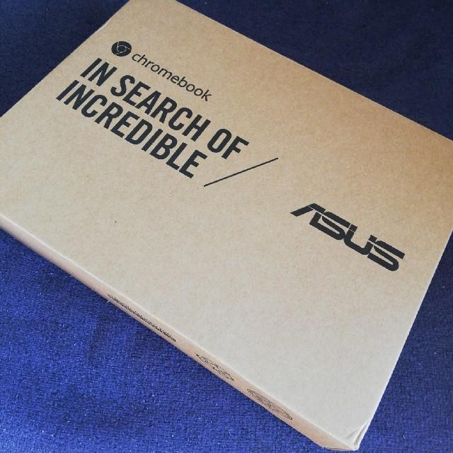 ASUS(エイスース)のASUS Chromebook Flip C101PA シルバー 10.1型新品 スマホ/家電/カメラのPC/タブレット(ノートPC)の商品写真