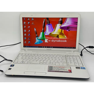 東芝 - 第2世代Core i3 Windows10 東芝  ホワイト ノートパソコン