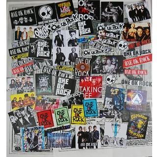 ワンオクロック(ONE OK ROCK)の小サイズワンオクロック大入りシールセット@商品説明ご確認ください(ミュージシャン)