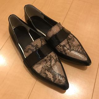 GU - フラットシューズ 革靴