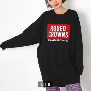 RODEO CROWNS WIDE BOWL - ロデオクラウンズ ボックス ロゴ ワンピース