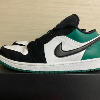 ナイキ(NIKE)のNIKE AIR JORDAN1 LOW MYSTIC GREEN 29cm(スニーカー)