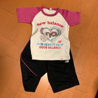 ニューバランス(New Balance)のTシャツ 短パン(Tシャツ/カットソー)