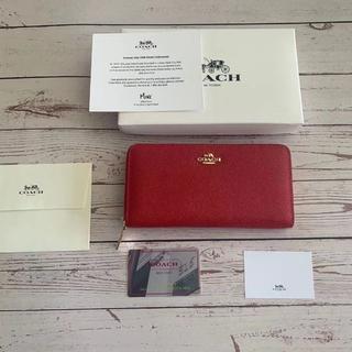 COACH - COACH F52372 レザー 長財布