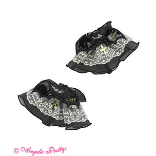 Angelic Pretty - Angelic pretty Horror Bat Crossお袖とめ