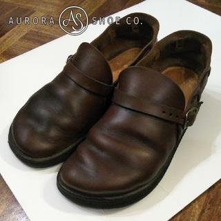 アウロラ(AURORA)のオーロラシューズ✨AURORA SHOES ミドルイングリッシュ 23cm(ローファー/革靴)