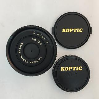 キョウセラ(京セラ)のキヨハラソフト VK70R コンタックス/ヤシカ マウント(レンズ(単焦点))