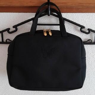 ハナエモリ(HANAE MORI)のHM ハンドバッグ ブラック(ハンドバッグ)