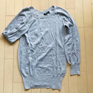 ミッシュマッシュ(MISCH MASCH)の綺麗デザイン♡シルバーラメのニット(ニット/セーター)
