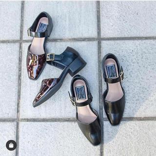 ランダ(RANDA)のCAMILLE BIS RANDA ワンストラップセパレートシューズ(ローファー/革靴)