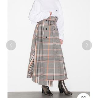 FRAY I.D - FRAY I.D  チェックトレンチプリーツスカート